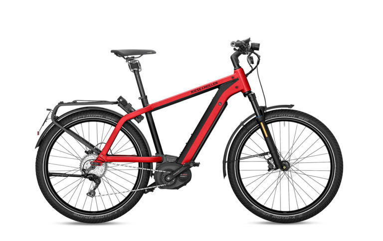 Riese & Muller Charger GT Touring HS Red Metallic - Propel E-Bikes