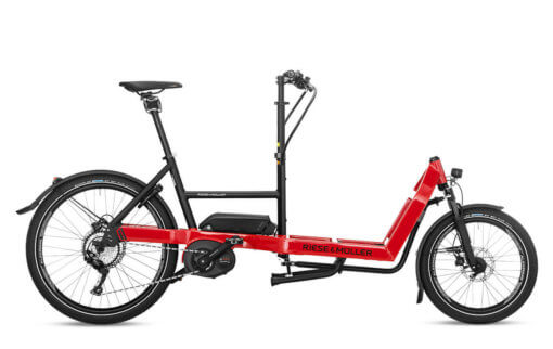 Riese & Muller Packster 40 Touring Racing Red for sale - Propel eBikes