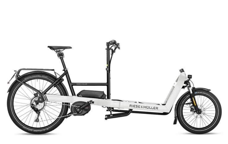 Riese & Muller Packster 60 Touring HS Light Grey for sale - Propel eBikes
