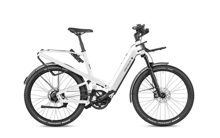 Riese and Muller GT Rohloff Pearl White - Propel Electric Bikes