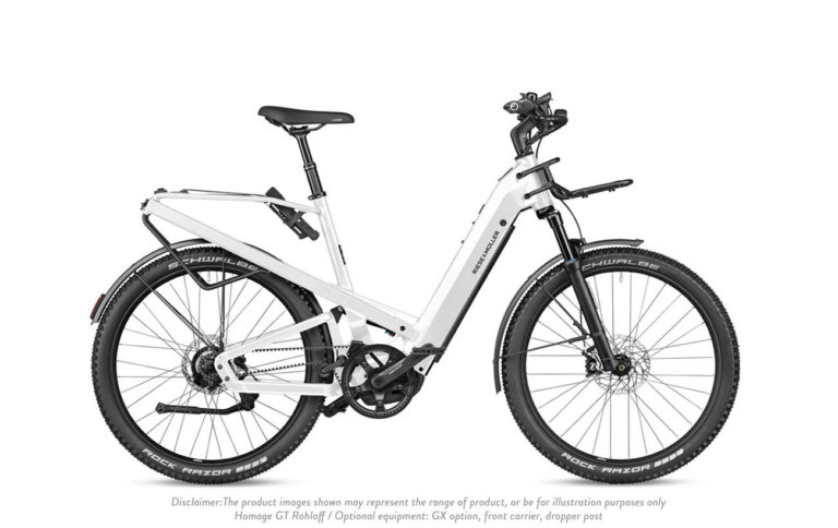 Riese & Muller GT Rohloff Pearl White Disclaimer - Propel Electric Bikes