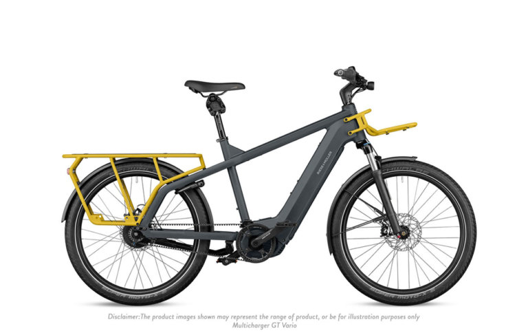 Riese and Muller Multicharger GT Vario Utility Grey Curry Matt - Propel Electric Bikes