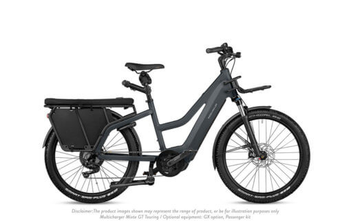 Riese and Muller Multicharger Mixte GT Touring Grey Black - Propel E-Bikes