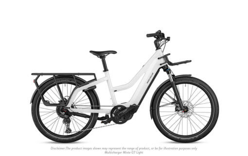 Riese and Muller Multicharger Mixte GT Light White Black - Propel E-Bikes