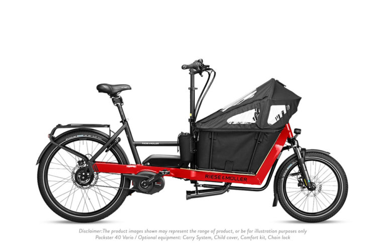 Riese and Muller Packster 40 Vario - Propel E-Bikes
