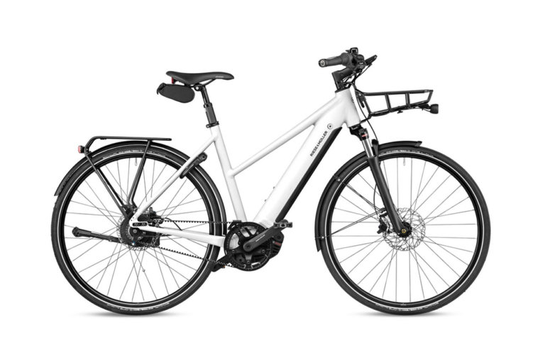 Riese and Muller-Roadster Mixte Vario Crystal White - Propel E-Bikes