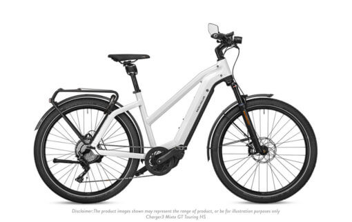Riese and Muller Charger 3 Mixte GT Touring HS Ceramic White - Propel Electric Bikes