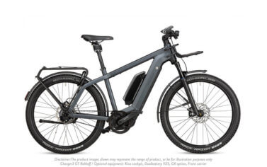 Riese and Muller Charger 3 GT Rohloff Storm Blue Matt - Propel Electric Bikes