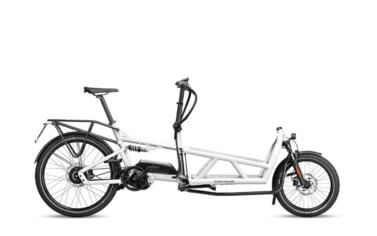 Riese and Muller Load 60 Vario HS White - Propel E-Bikes