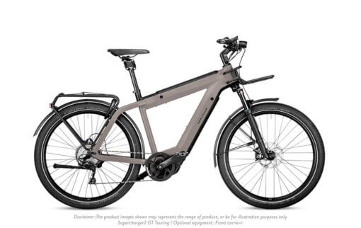 Riese & Muller Supercharger2 GT Touring Warm Silver Matt Disclaimer - Propel Electric Bikes