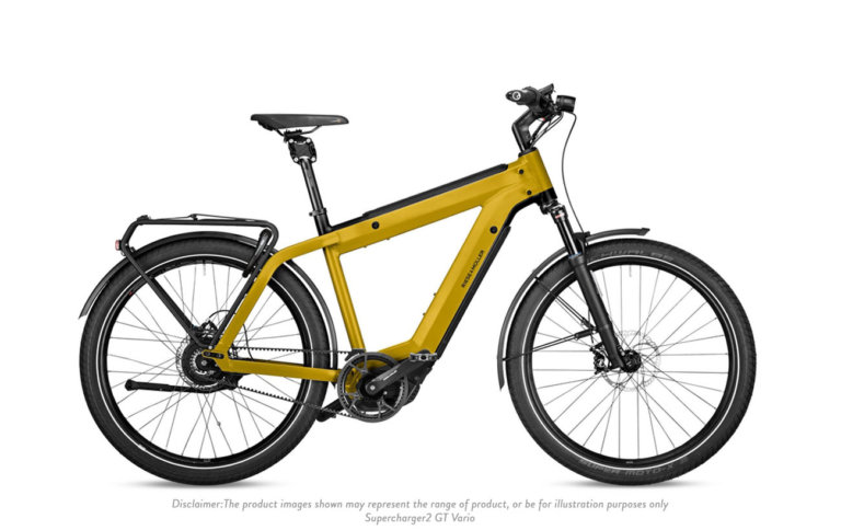 Riese & Muller Supercharger2 GT Vario Curry Matt Disclaimer - Propel Electric Bikes