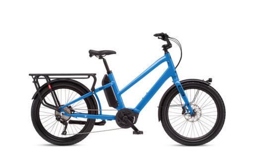 Benno Boost E 10D Performance Low-Step Machine Blue - Propel Electric Bikes