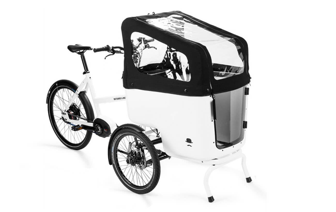 Bicycles Hood with Skyview, Butchers & Bicycles Hood with Skyview