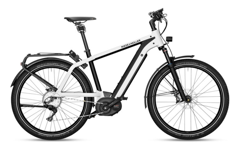 Riese & Muller Charger GT Touring Pearl White for sale - Propel E-Bikes