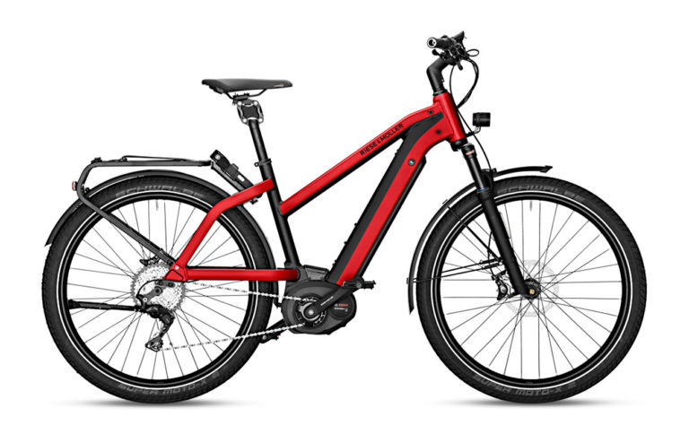 Riese & Muller Charger Mixte GT Touring Red Metallic for sale - Propel eBikes