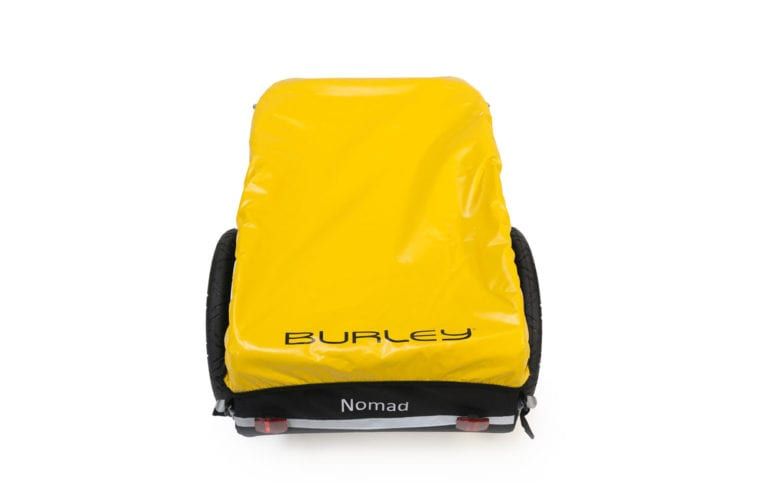 Burley Nomad Cargo Bike Trailer - Yellow - Propel Electric Bikes