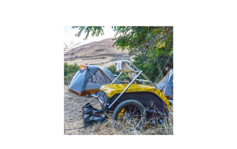 Burley Nomad Bicycle Trailer Yellow for sale - Propel E-Bikes