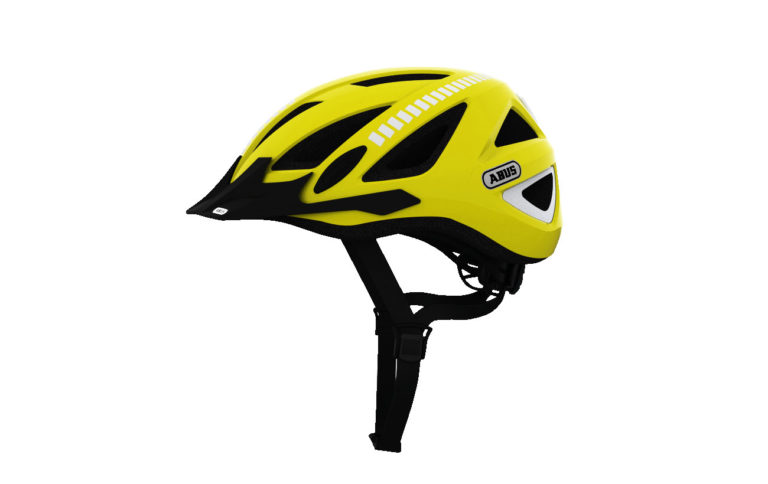 Abus Urban-I 2.0 Signal Yellow Bike Helmet - Propel Electric Bikes