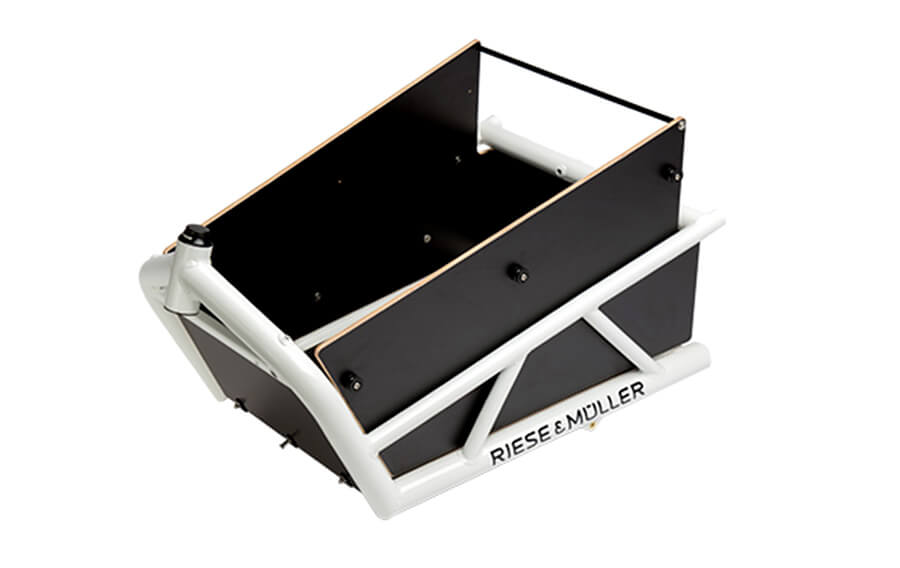 Riese & Muller Load Accessory high sidewalls inside