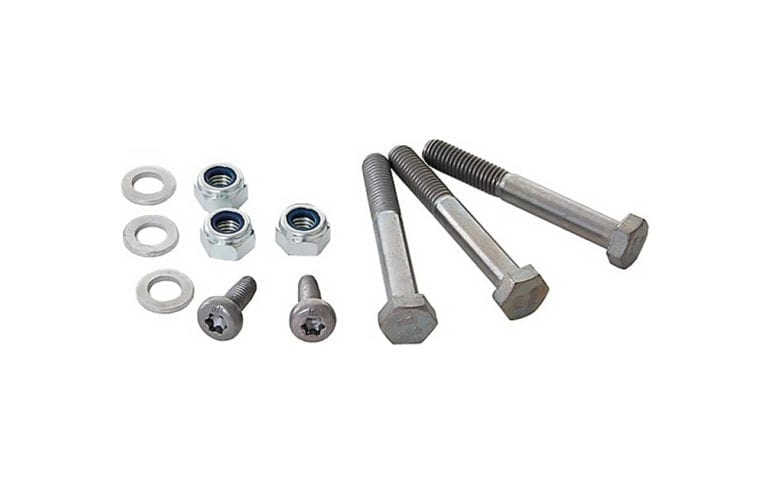 Bosch towing vehicle spare parts mounting bolt kit for driver unit Active Performance Line