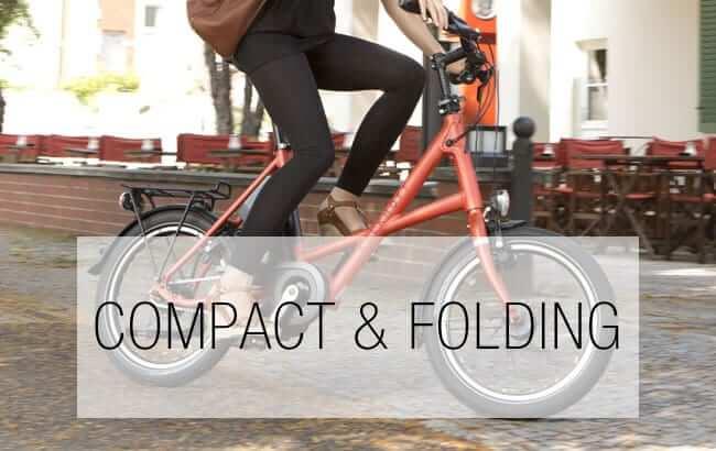 Compact & Folding Electric Bikes