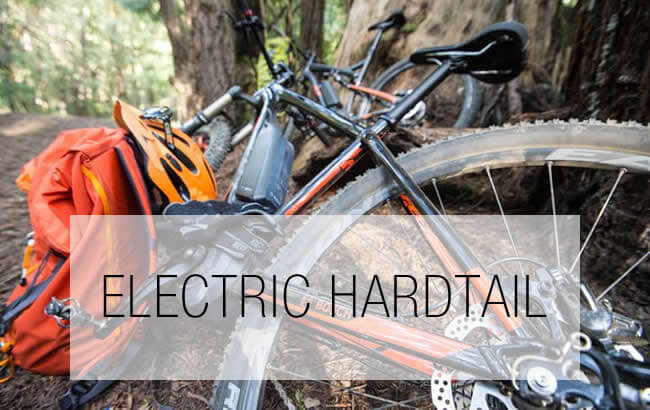 Hardtail Electric Mountain Bikes