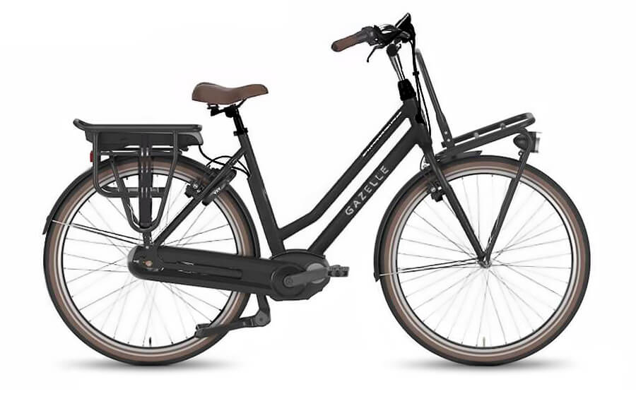 GazelleNL C7 HMB Black Electric Bikes
