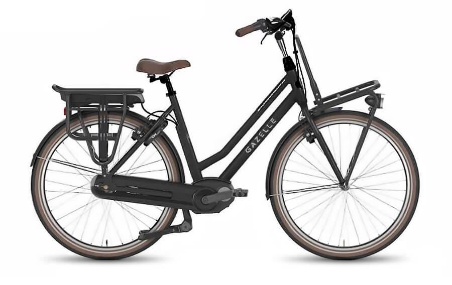 GazelleNL C7 HMB Black Electric Bikes