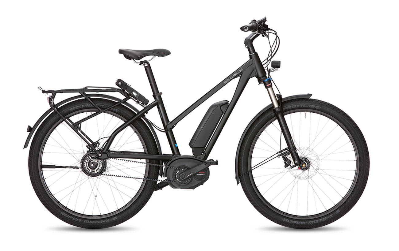Riese & Muller Charger Mixte GT NuVinci Electric Bike Black