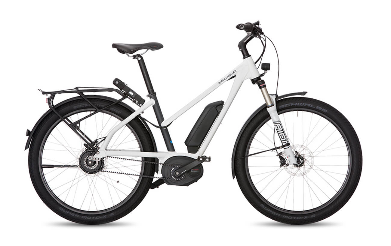 Riese & Muller Charger Mixte GT NuVinci Electric Bike White
