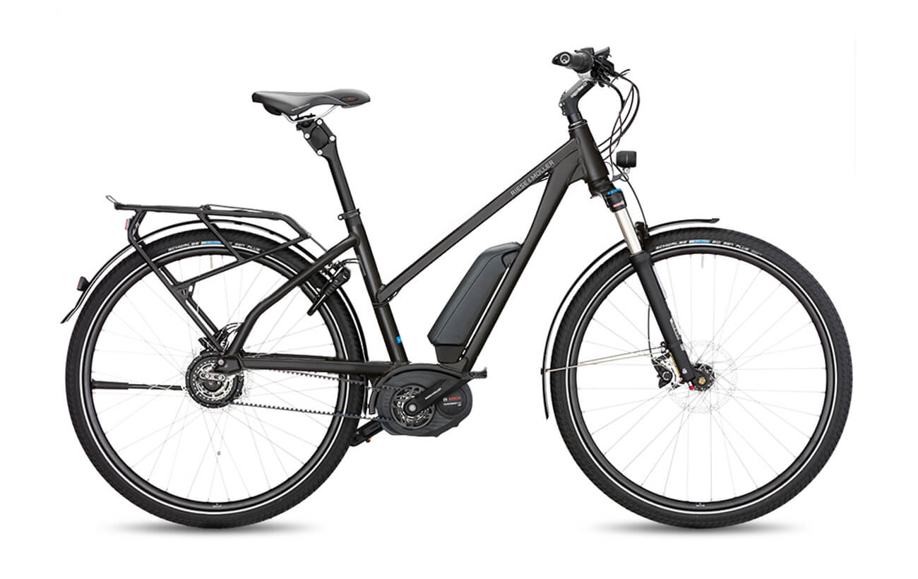 Riese & Muller Charger Mixte Nuvinci Electric Bike Black
