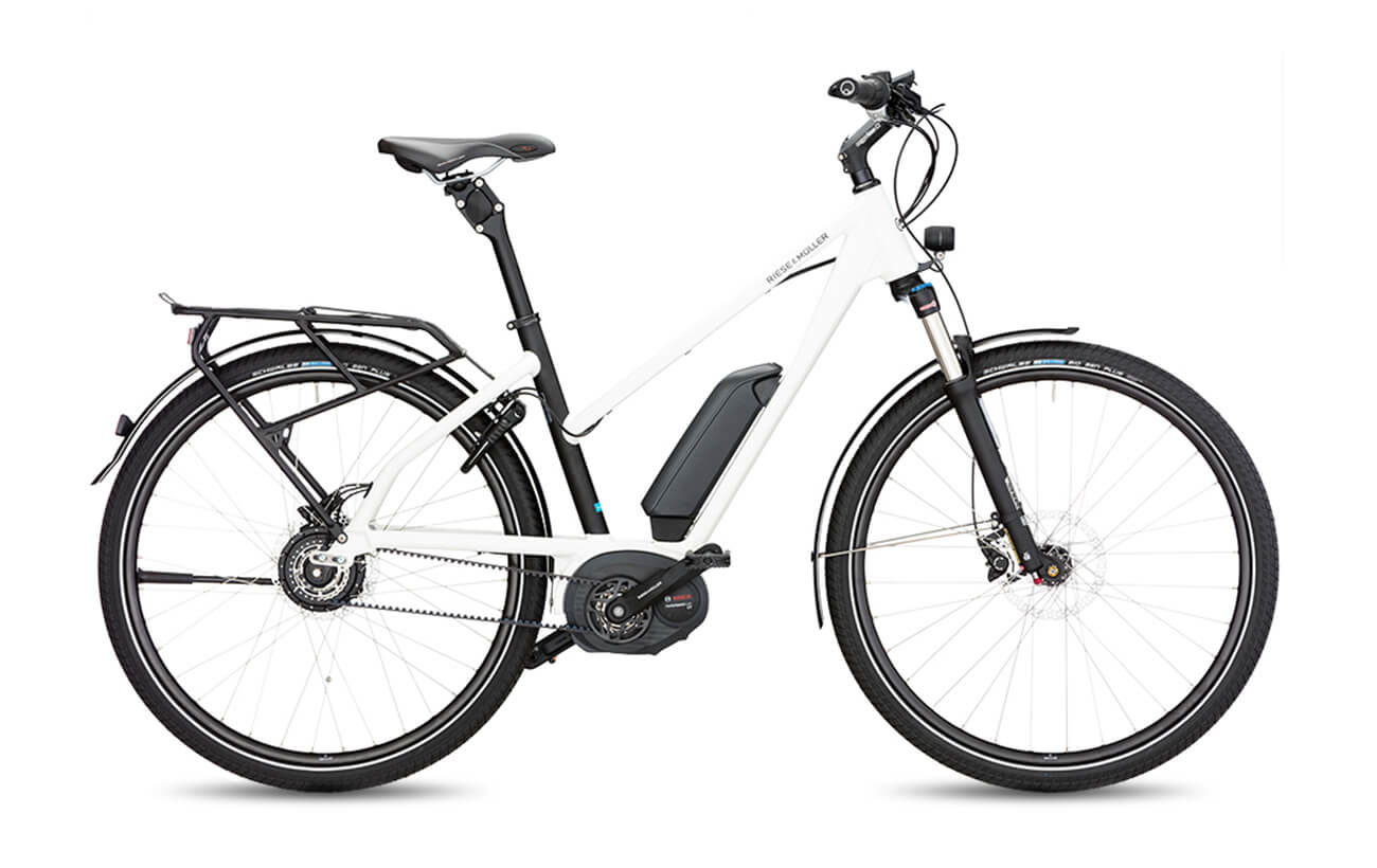 Riese & Muller Charger Mixte Nuvinci Electric Bike White