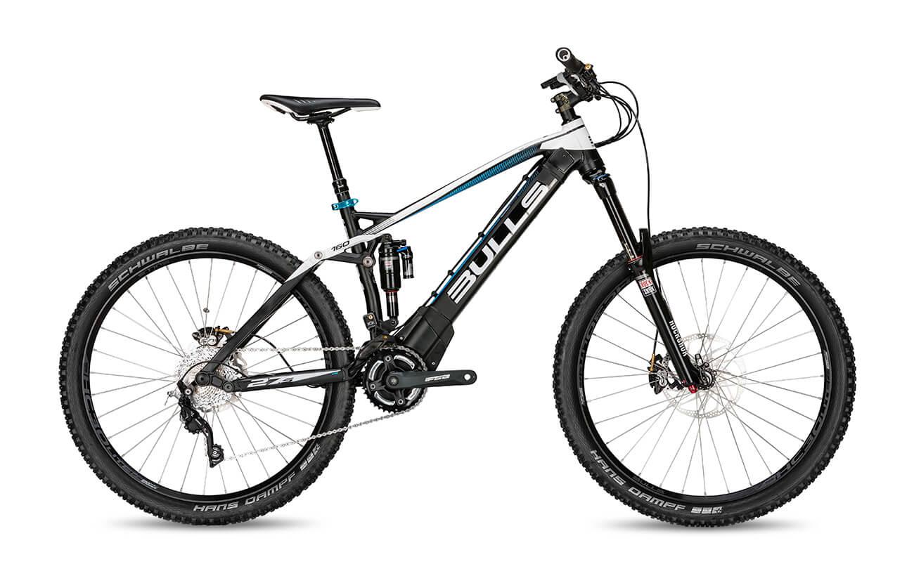 Bulls E-Stream EVO FS Enduro 27.5 2017 electric bike