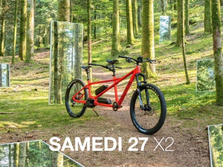 Moustache Introduces a Tandem e-MTB for 2017