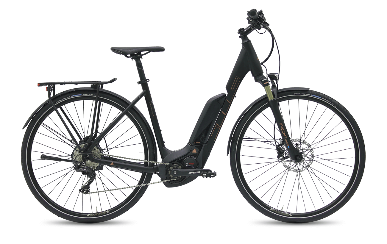 Bulls Cross Lite E 2017 wave electric bike