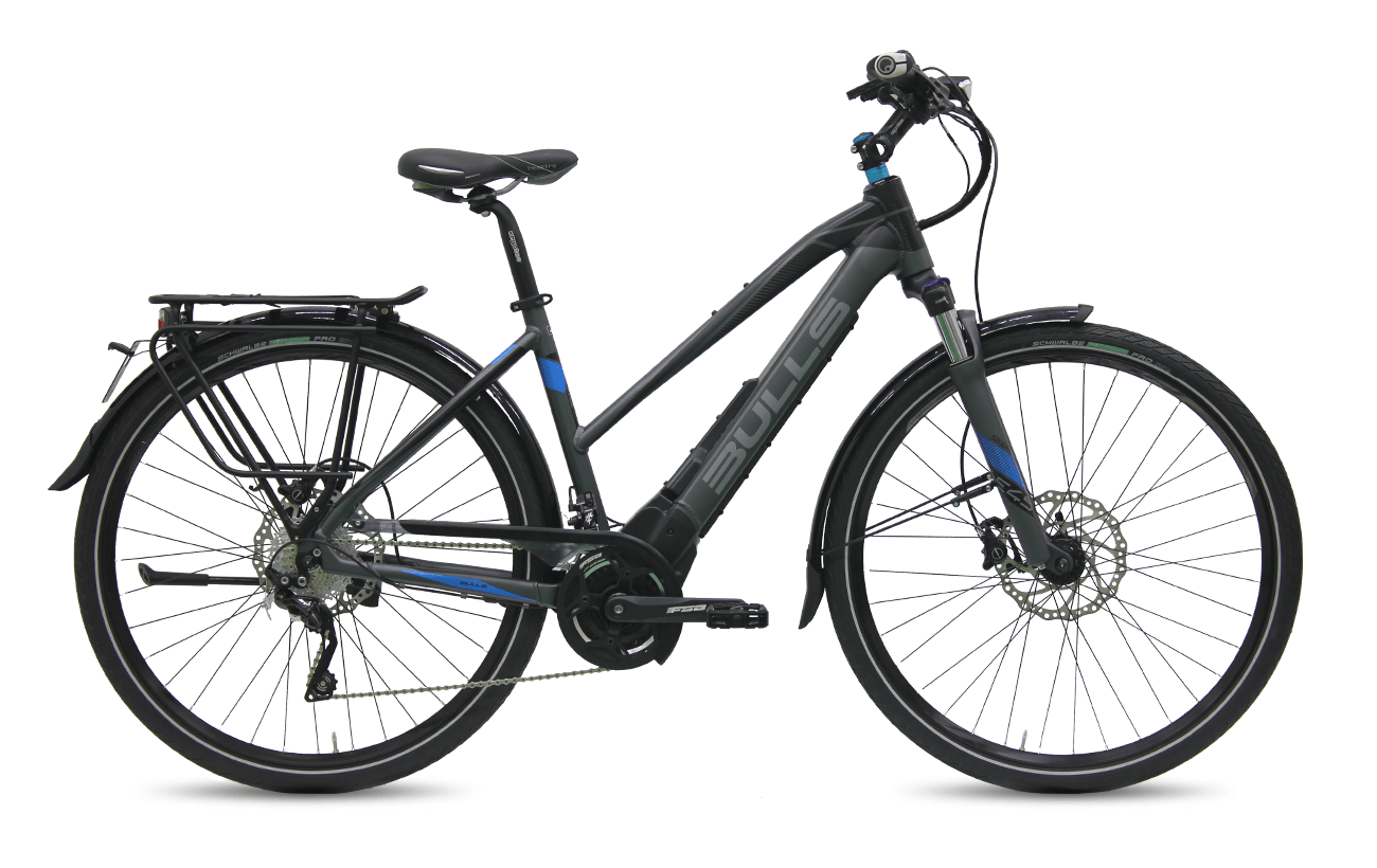 Bulls LACUBA EVO E45 2017 low step electric bike