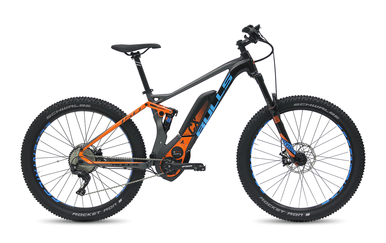 Bulls SIX50 Plus E FS 3 2017 Electric Bikes