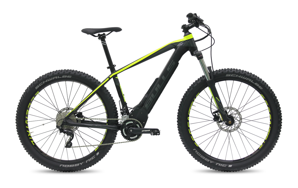 Bulls E-STREAM EVO 2 27.5 PLUS 2017 electric bike