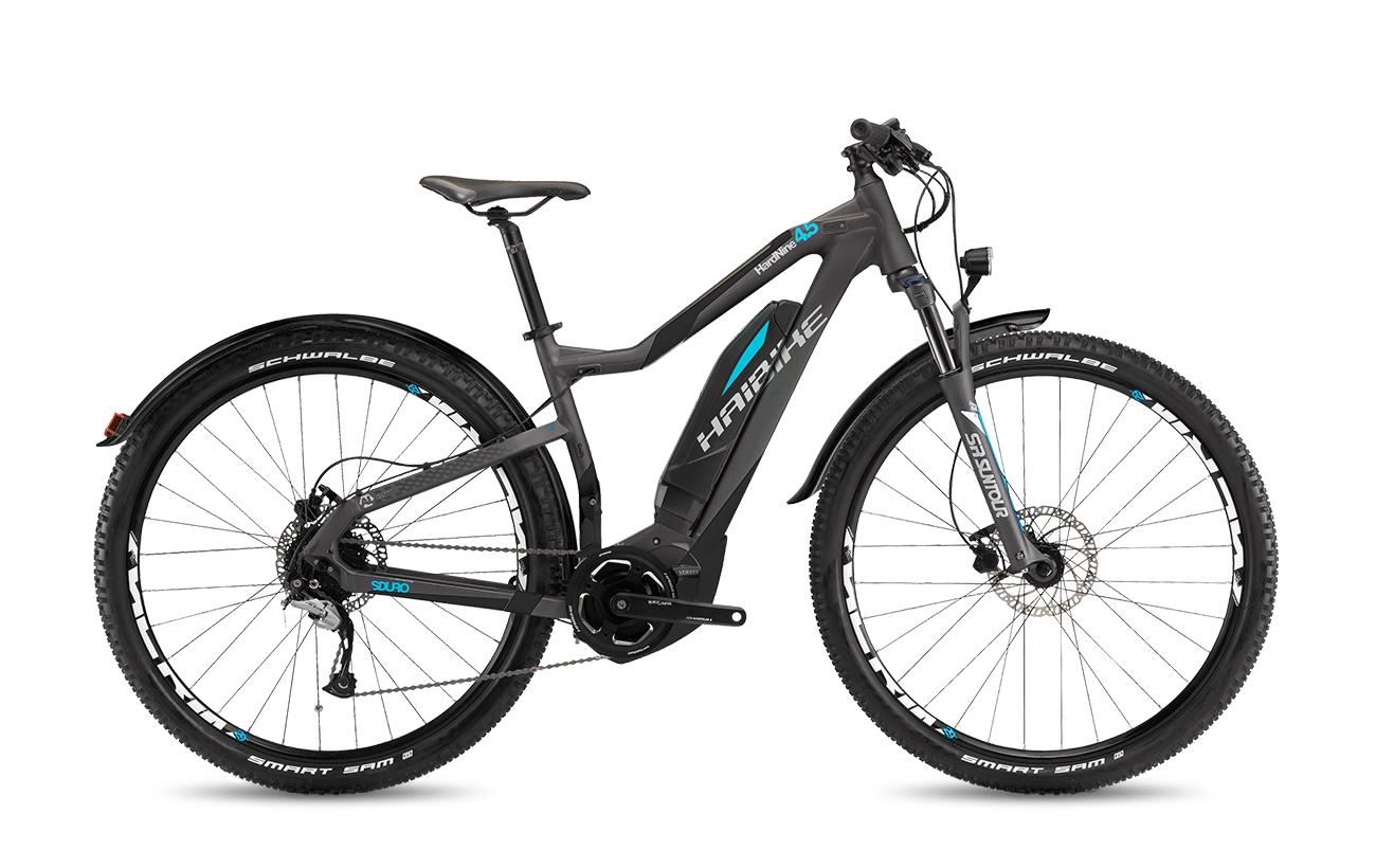 Haibike sduro hardnine street 4 5 2017 propel electric for Yamaha e mountain bike