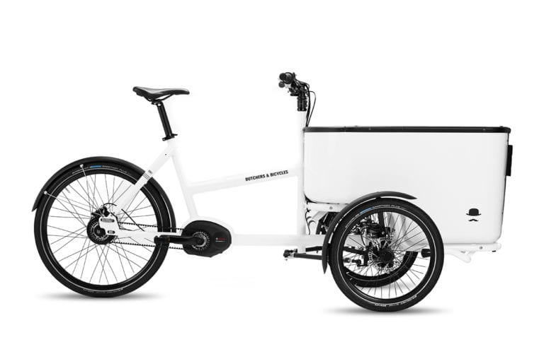Shop Butchers & Bicycles MK1-E White - Propel E-Bikes