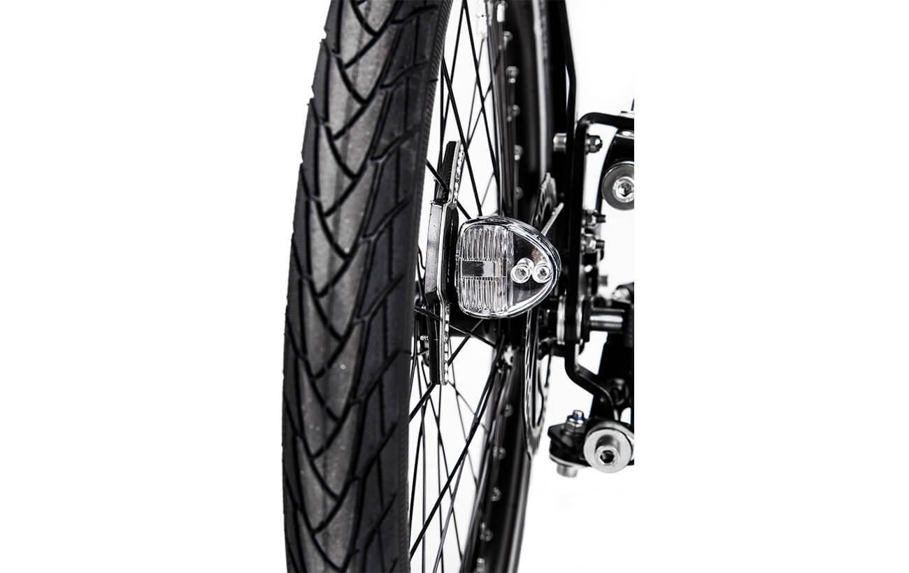 Butchers & Bicycles MK1-E Pro reelight front