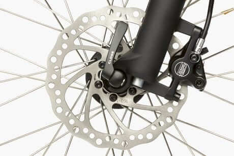 Riese & Muller Packster hydraulic disc brakes