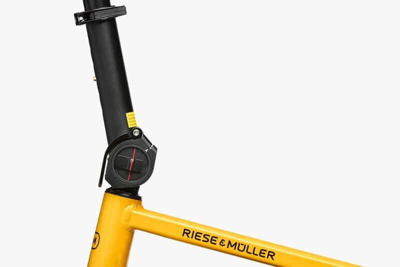 Riese & Muller Tinker adjustable stem