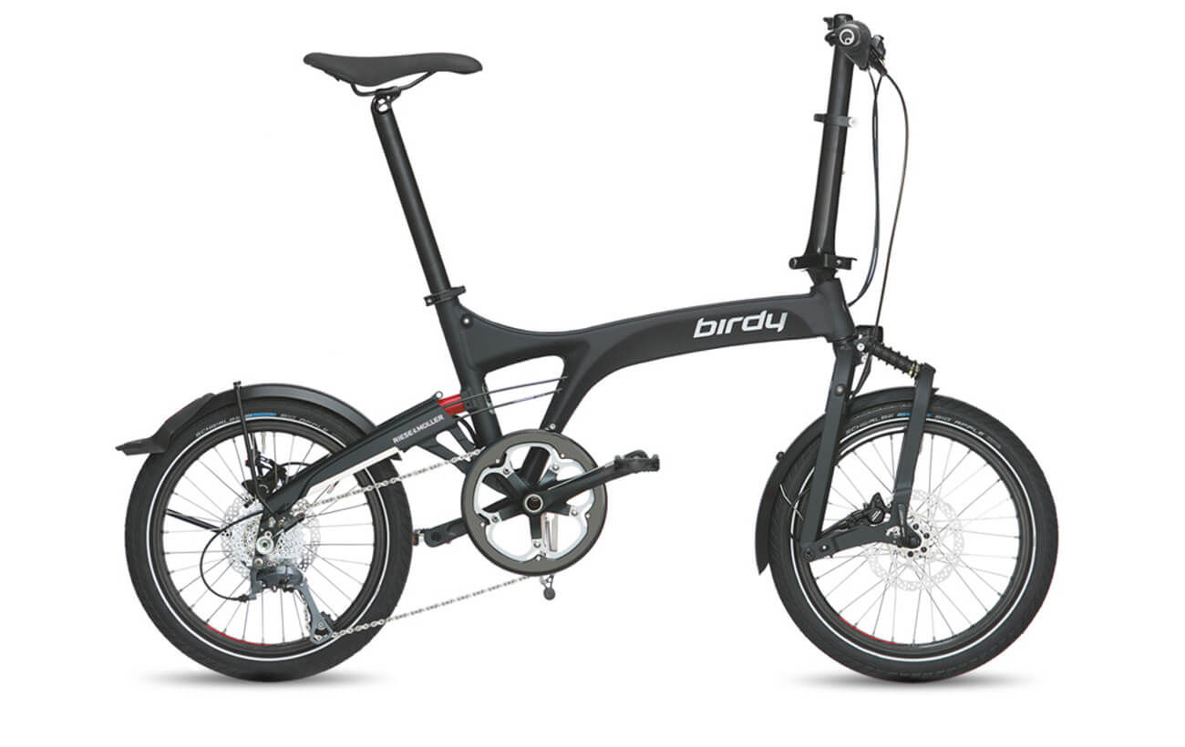 Riese & Muller Birdy Dualdrive Graphite Black Matte Folding bike