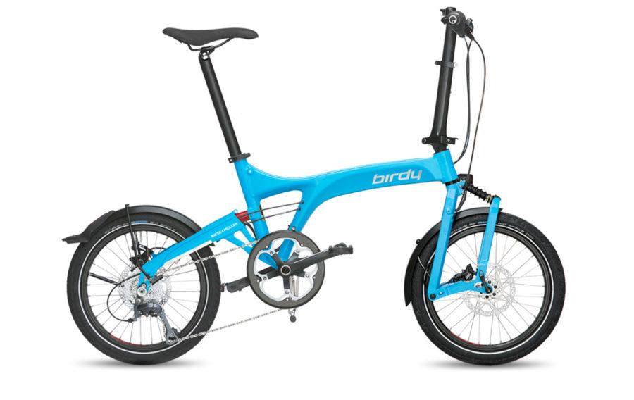 Riese & Muller Birdy Dualdrive Cyan Folding bike