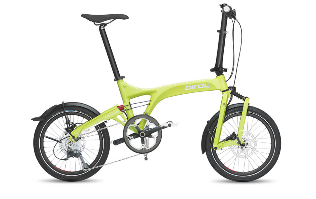Riese & Muller Birdy Dualdrive Lime Folding bike