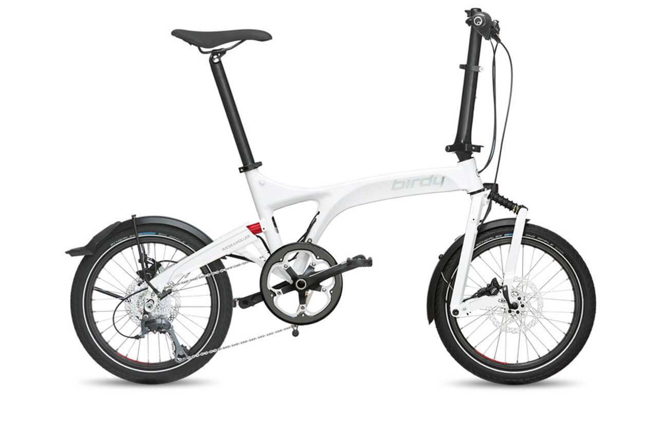 Riese & Muller Birdy Dualdrive White Folding bike