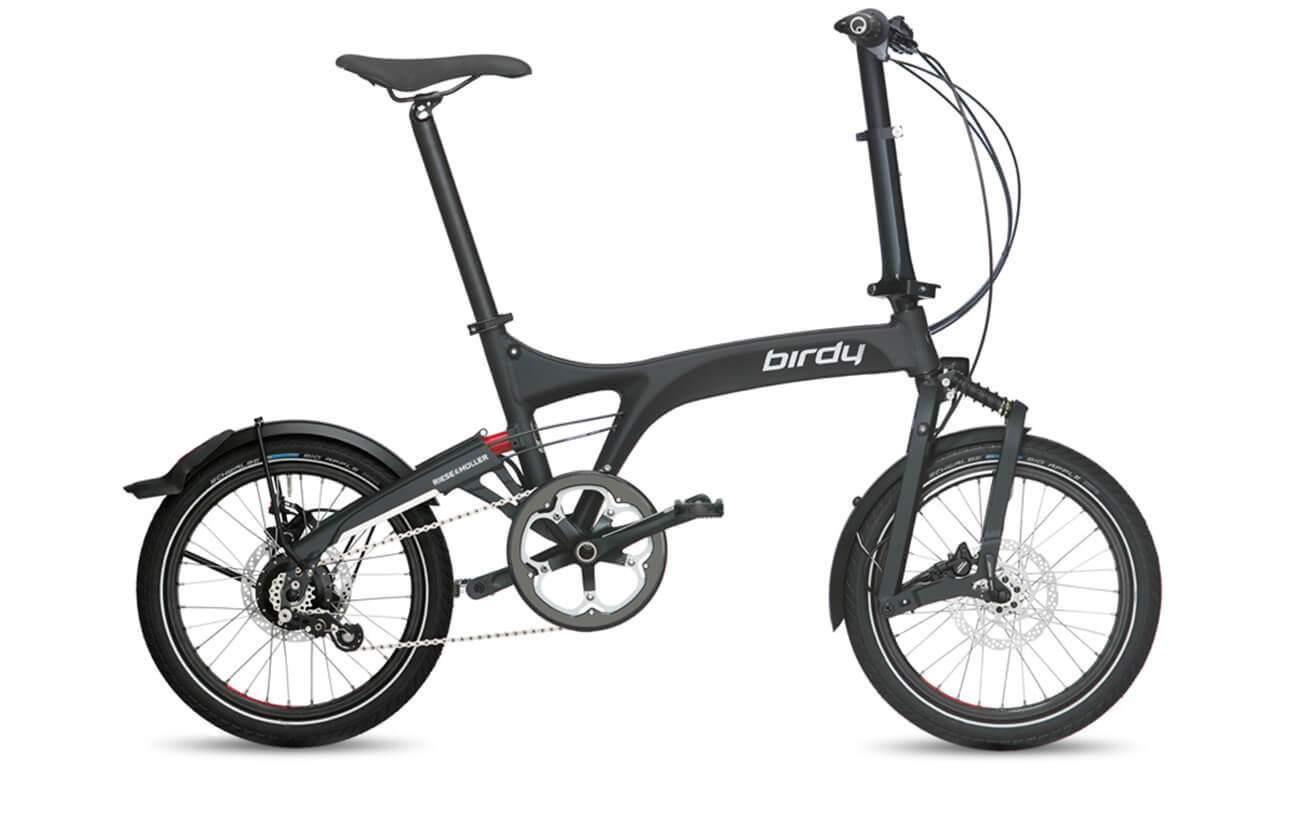 Riese & Muller Birdy Rohloff Folding bikes Graphite Black matte