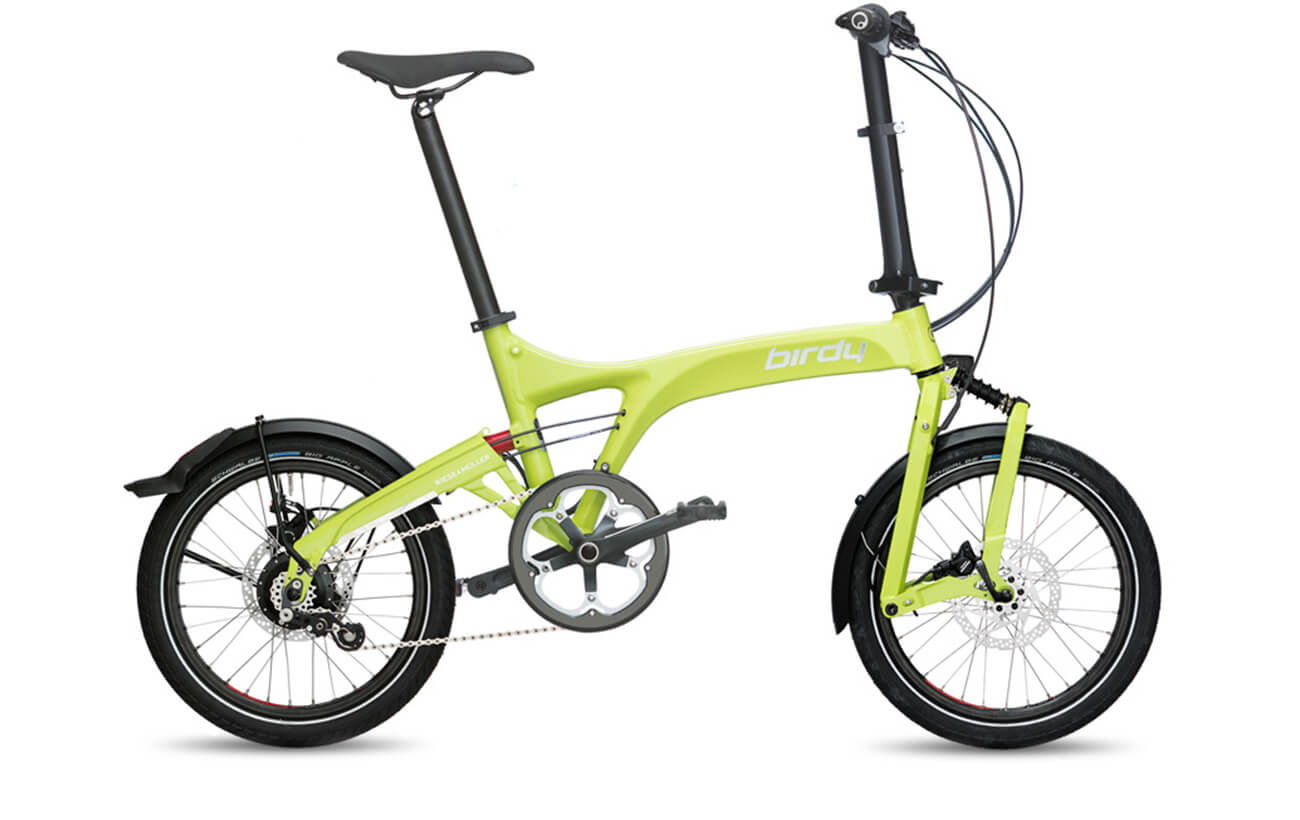 Riese & Muller Birdy Rohloff Folding bikes Lime