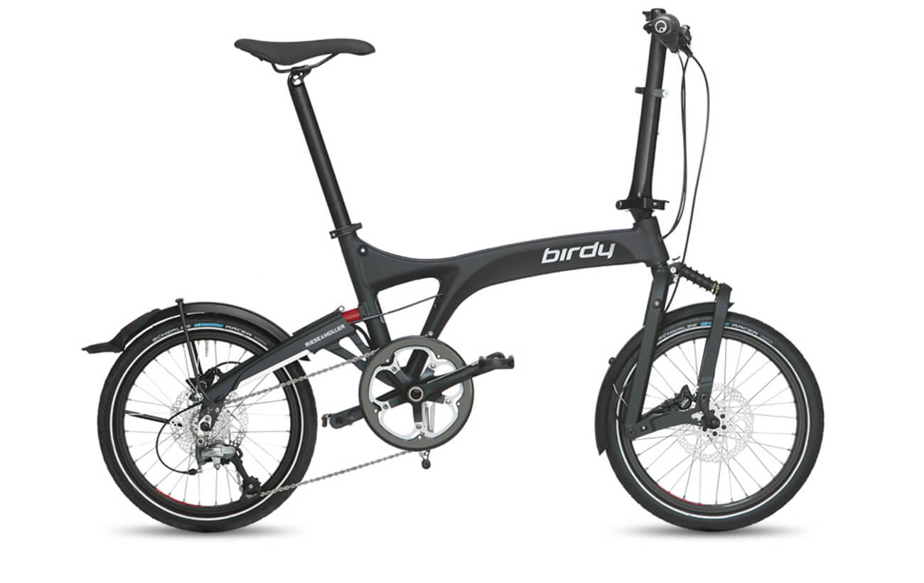 Riese & Muller Birdy Speed Graphite black matte folding bike